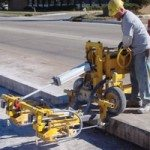 Concrete full depth repair patch E-Z Drill