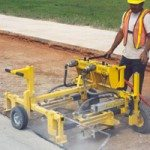 E-Z Drill 210-B Slab rideron-grade concrete dowel drill