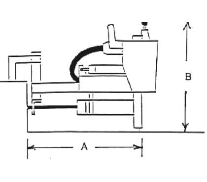 E-Z Drill 65B on-grade concrete drill specs