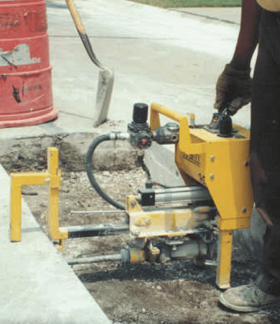 e-z-drill-65B road full depth repair