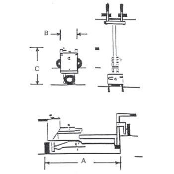 E-Z Drill 110B on-grade concrete dowel drill specs