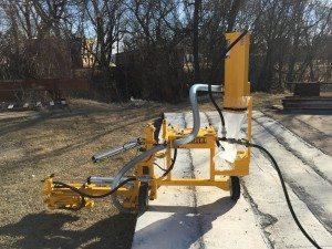 E-Z Drill 240B SRA slab rider concrete drill dust-collection-system