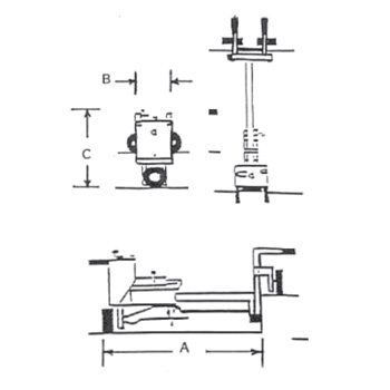E-Z Drill 210B concrete dowel pin drill specifications
