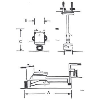 E-Z Drill 240B Concrete Drill Specs