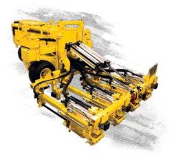 E-Z Drill 210-4 SRA slab rider concrete drill