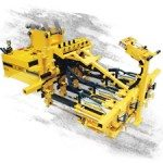 E-Z Drill 210-5 EQMT equipment mounted concrete dowel pin drill