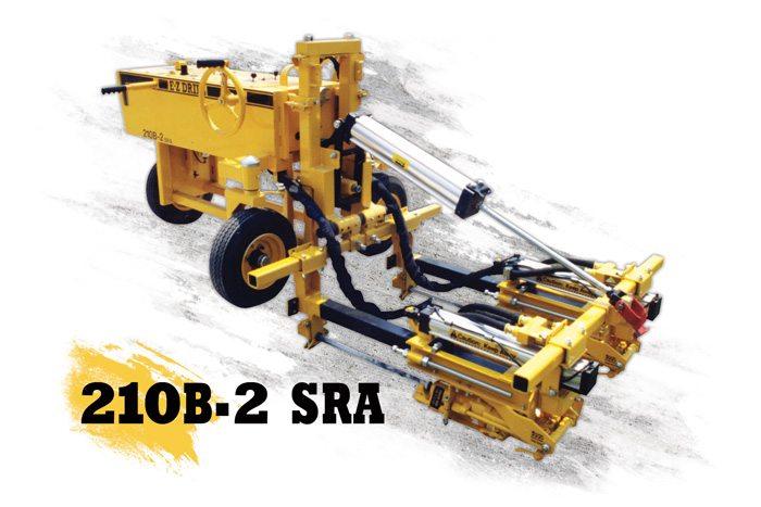 210B-2 SRA Slab Rider   Two-Gang Drills   E-Z Drill