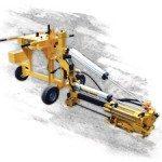E-Z Drill 210B SRA slab rider concrete dowel drill