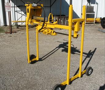 E-Z Drill 210B-2 concrete drill 24inch-configuration