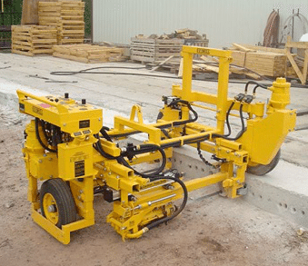 self propelled two-gang on-grade concrete drill