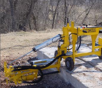 E-Z Drill 240B SRA slab rider concrete drill core-drilling