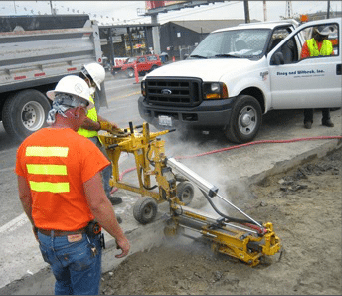 E-Z Drill 240B SRA slab rider concrete drill lane-additions