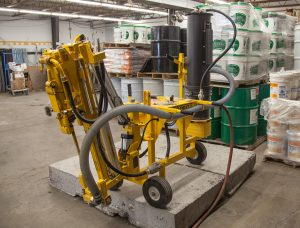 E-Z Drill 210B SRA Slab Rider Drill Dust Collection System